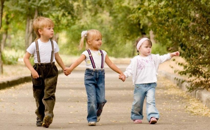 turėti tris vaikus